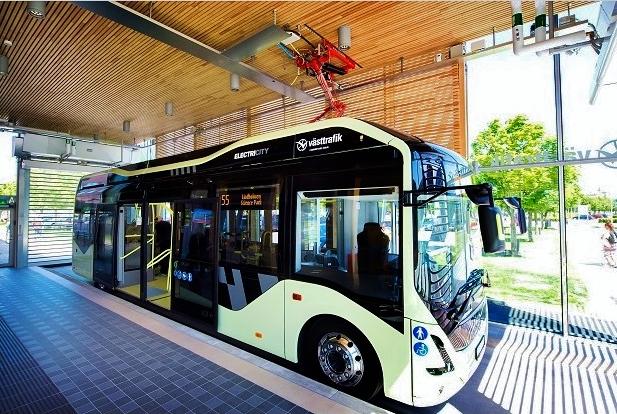 Elektrobusy v Göteborgu 4OK