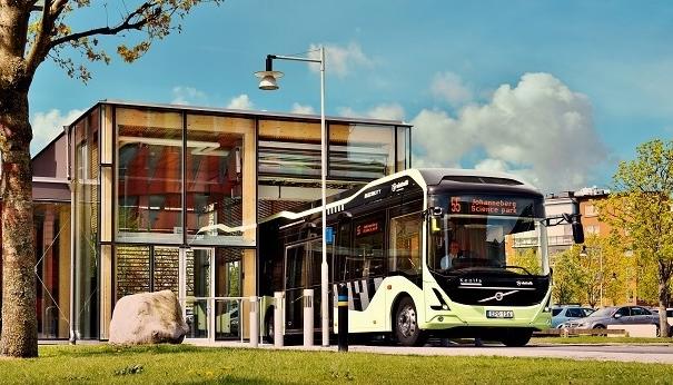 Elektrobusy v Göteborgu 5OK