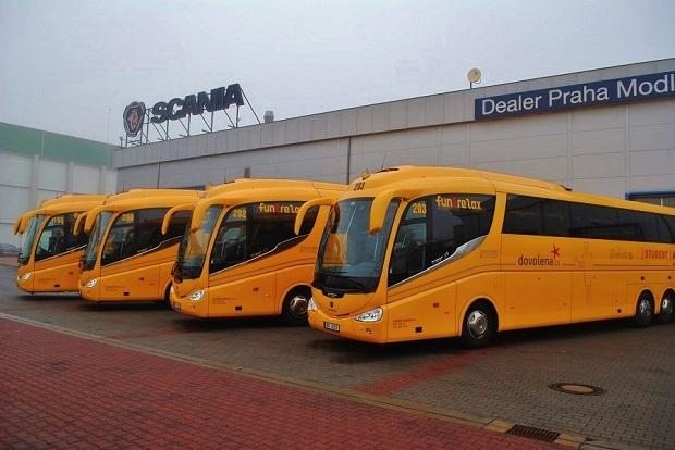 Scania IRIZAR PB _ Student _Agency 1
