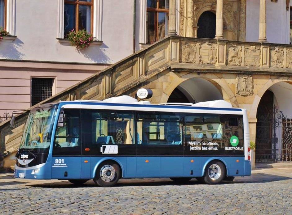 Elektrobus SOR EBN 8 1