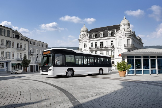 Scania Citywide LE 4x2, Hybrid bus Koblenz, Germany Photo: Ramon Wink 2014