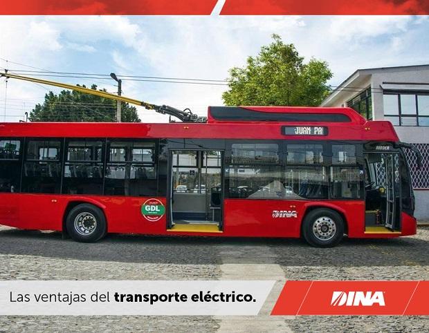 Trolejbus Mexiko