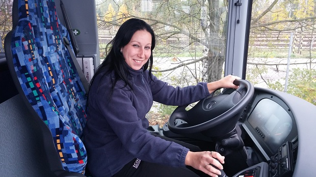 Alena Pokorná_řidička ICOM transport