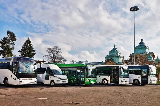 Iveco Bus_Czechbus2015_Venkovní Expozice