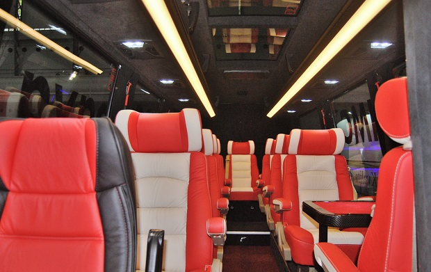 Prémiový Midi Bus Mercedes-Benz BUSINESS EXCLUSIVE na veletrhu CZECHBUS 2015 (foto: Zdeněk Nesveda)