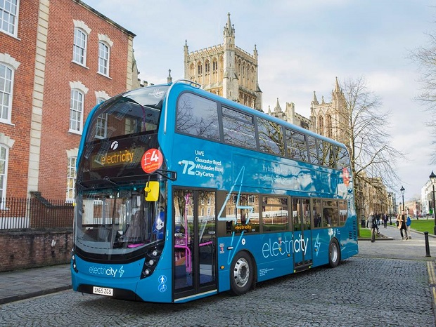 Electric Bus Bristol
