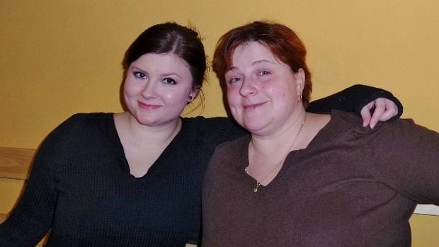 paní Radka Mandlová s dcerou