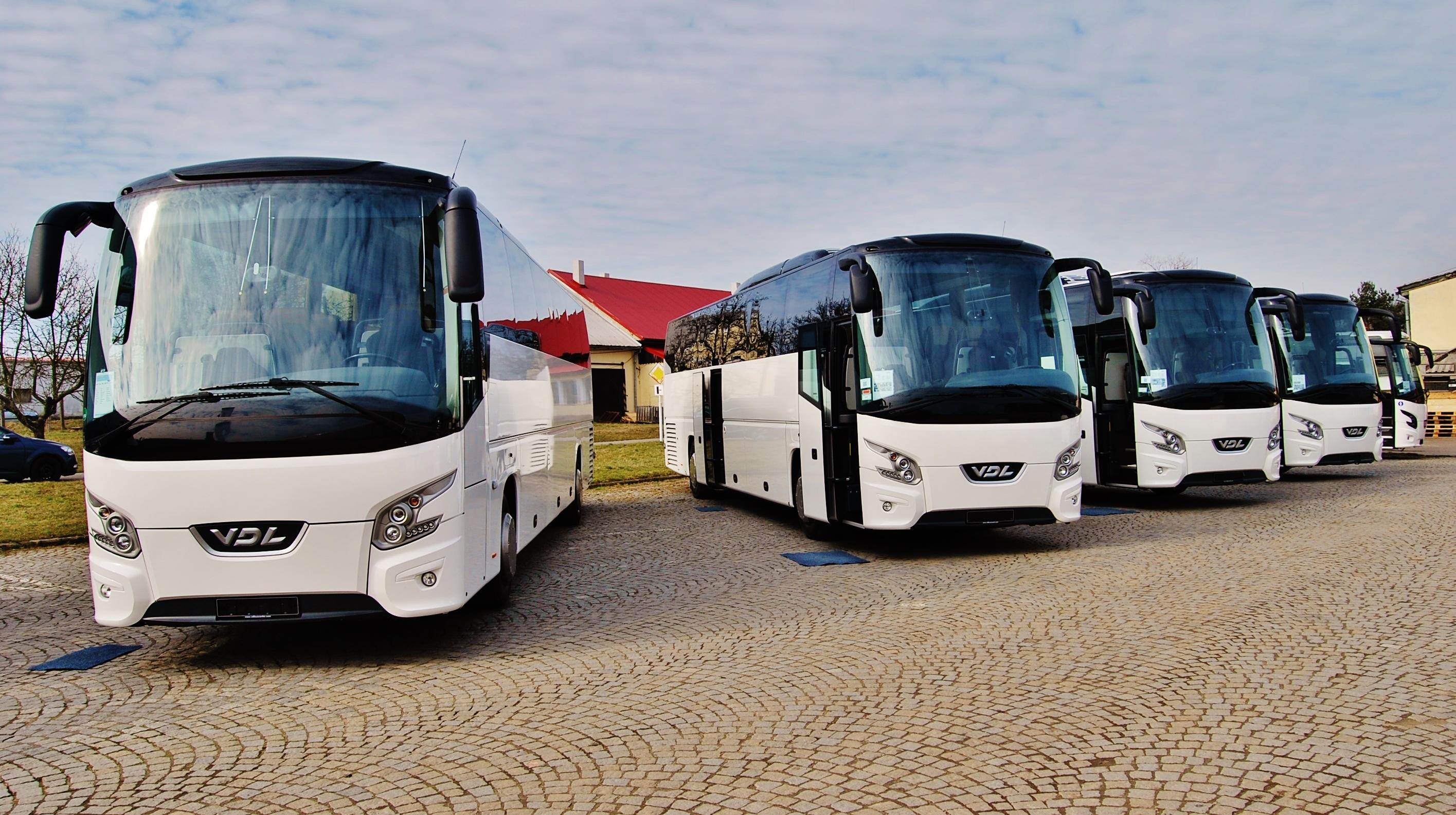 Autobusy na jarní  výstavě VDL 2014, foto: Zdeněk Nesveda