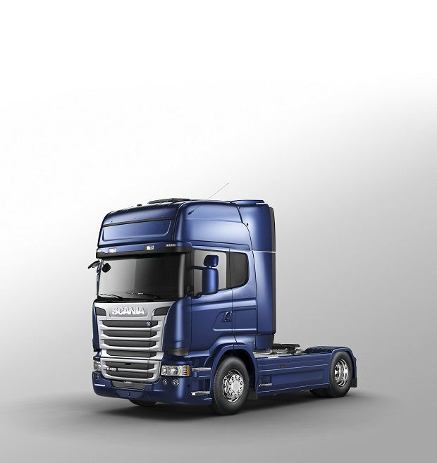 Scania R 490 4x2 Streamline with Topline cab, tractor unit. Illustration: Rikard Hallgren 2014