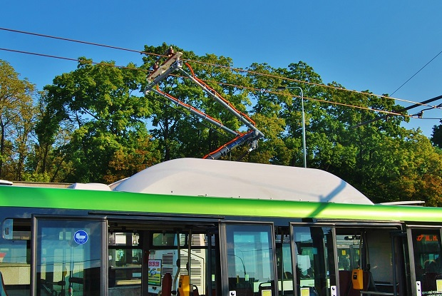 Elektrobus SOR EBN 11 SOR s elektrovýzbrojí Cegelec poprvé nasazený do zkušebního provozu v Praze v červnu 2015, foto: Zdeněk Nesveda