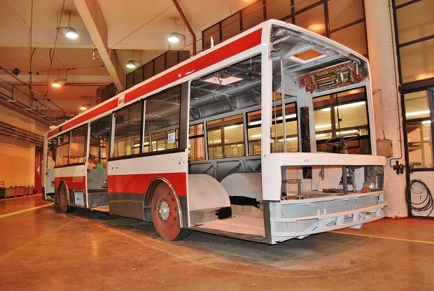 ANVI TRADE trolejbus Brno 2016 1