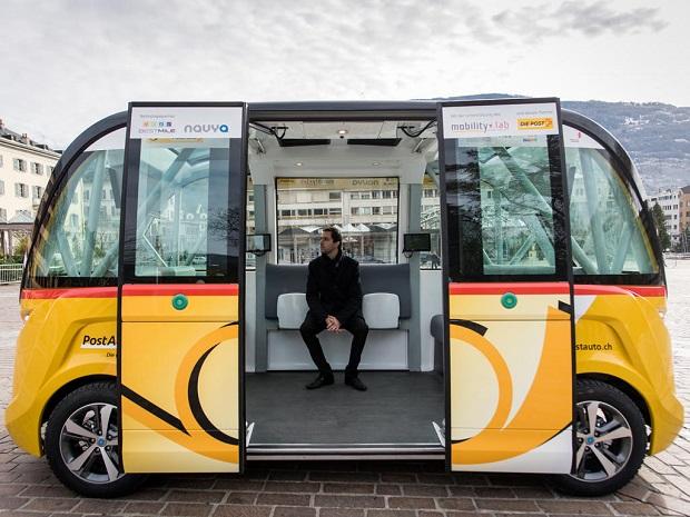 Elektrobusy Švýcarsko 3