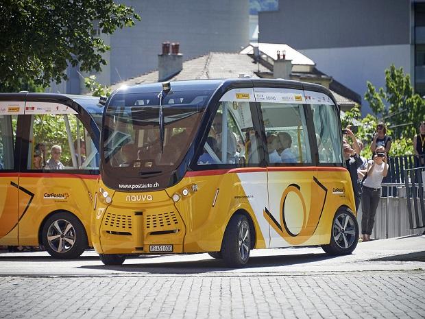 Elektrobusy Švýcarsko 4
