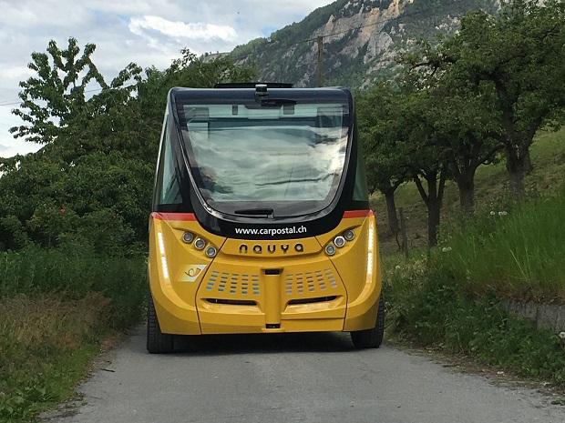 Elektrobusy Švýcarsko 7