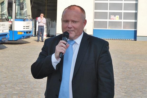 Zdeněk Abraham, jednatel a ředitel společnosti Arriva Střední Čechy s.r.o. (foto: Zdeněk Nesveda)