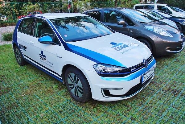 Elektromobil Volkswagen Golf, ČSOB leasing, foto: Zdeněk Nesveda