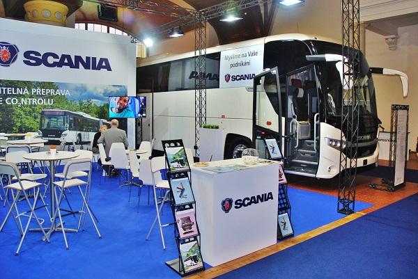 Scania Interlink HD na veletrhu CZECHBUS 2016, foto: Zdeněk Nesveda