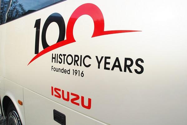 100 let značky ISUZU (foto: Zdeněk Nesveda)