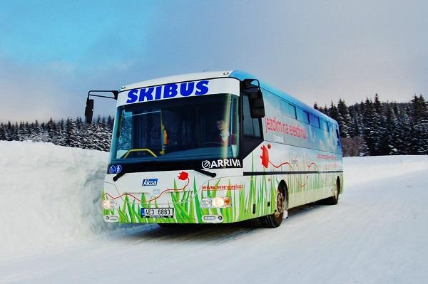 Elektro Bus Skibus Arriva v Jeseníkách, foto: Arriva