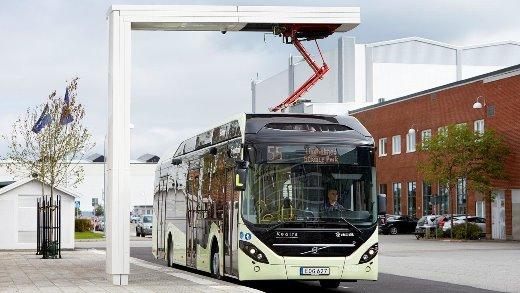 Volvo 7900 Electric Hybrid, foto: Volvo