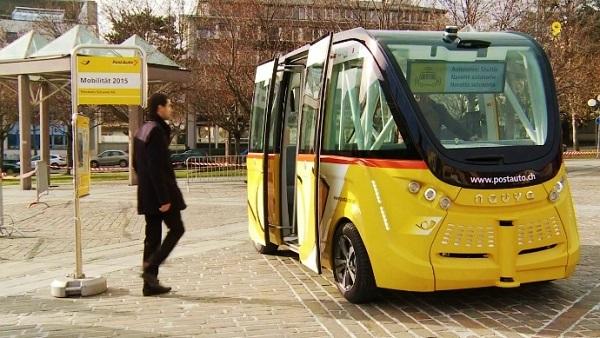 Příkladem je švýcarský národní autobusový dopravce PostAuto Schweiz AG, který provozuje autonomní elektrické minibusy v Sionu, hlavním městě švýcarského kantonu Valais