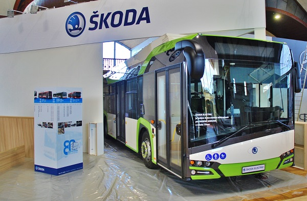 Elektrobus Škoda Perun na veletrhu CZECHBUS 2016 v Praze, foto: Zdeněk Nesveda