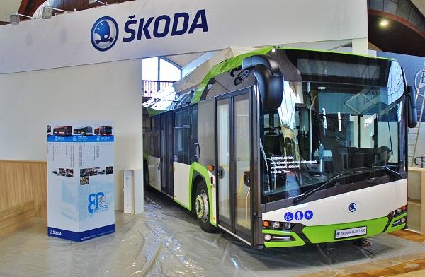 Škoda PERUN HE (High Energy) na veletrhu CZECHBUS 2016 v Praze, foto: Zdeněk Nesveda