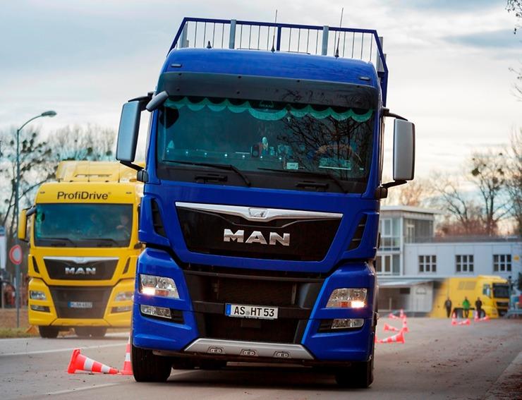 """MAN ProfiDrive - nový program školení s názvem """"Specifický sektor"""" foto: MAN Truck & Bus"""