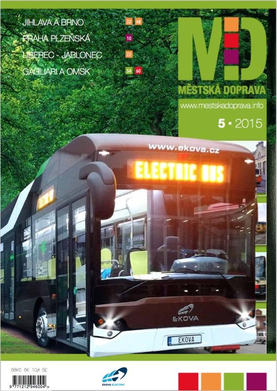 EKOVA Electron na stránkách časopisu Městská Doprava