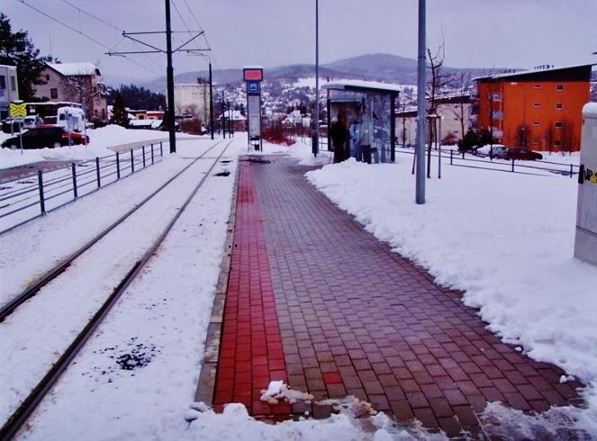 Unikátní české vyhřívané tramvajové zastávky v Liberci a Jablonci nad Nisou, foto: SDP