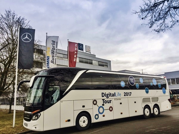 DigitalLife 2017- Tour @ daimler. foto: Daimler