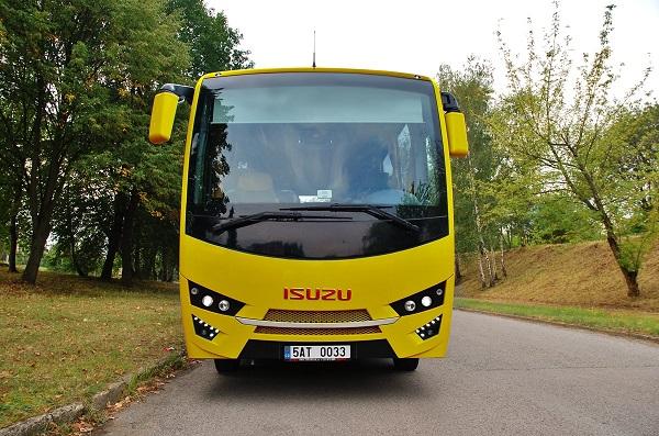 ISUZU Novo, varianta školního autobusu určená pro český a slovenský trh, foto: TURANCAR
