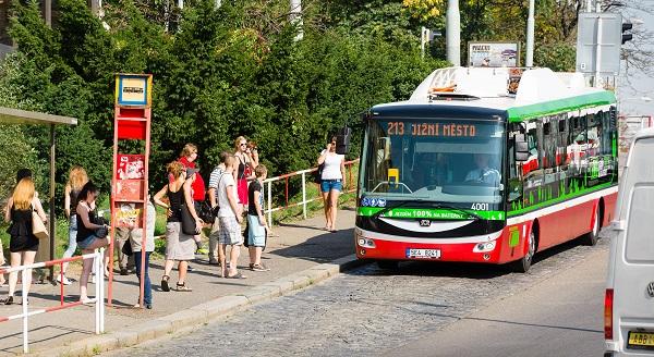 Dopravní podnik hl. m. Prahy uvedl do provozu s cestujícími elektrobus SOR EBN 11, který je součástí dlouhodobého ověřovacího provozu. ilustrační foto: DPP
