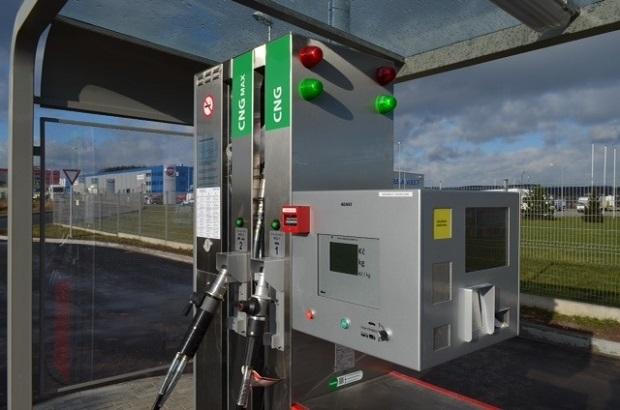 CNG plnící stanice, ilustrační foto:  E.ON