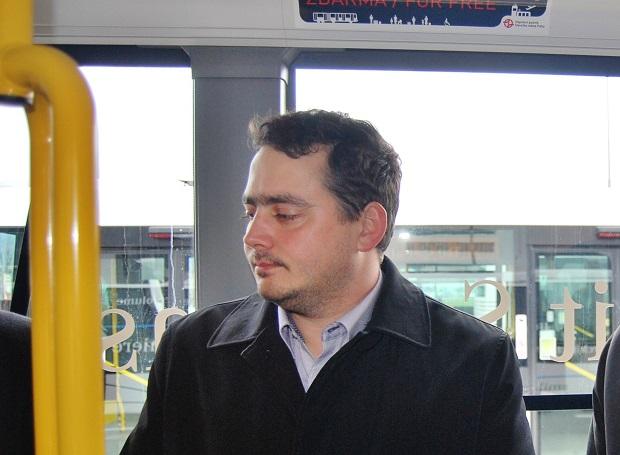 Petr Dolínek, náměstek primátorky pro dopravu, sport a volný čas (ČSSD). foto: Zdeněk Nesveda