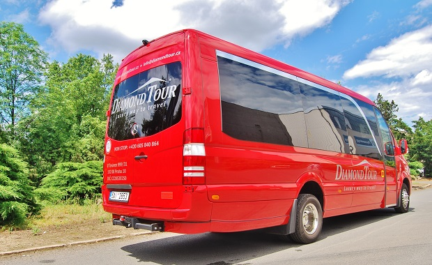 MB - Sprinter 519 CDI vyrobený na zakázku pro pražskou společnost Diamond Tour, foto: Zdeněk Nesveda