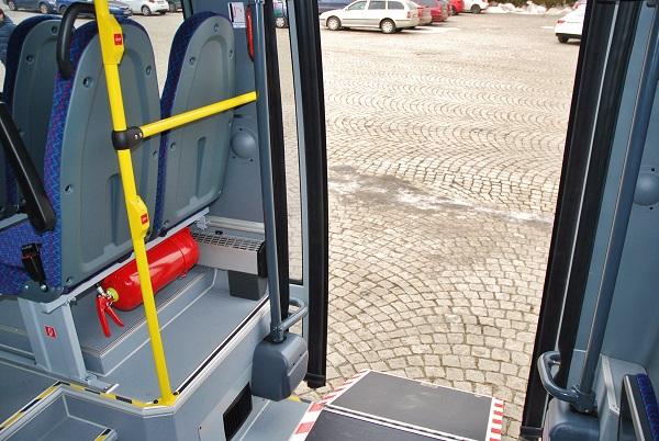 Kvalitní, pečlivé zpracování interiéru nových autobusů Rošero First, foto: Zdeněk Nesveda