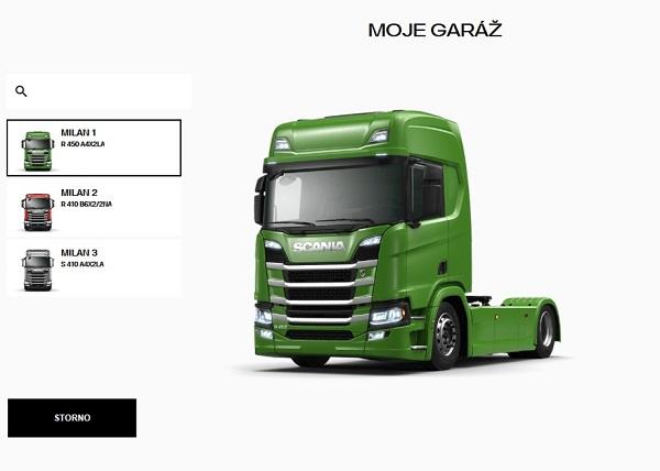 Scania v Česku představila nový konfigurátor, klikněte na obrázek a nakonfigurujte si vaše nové auto