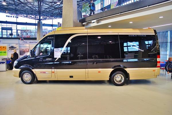 Mercedes -Benz Sprinter, midibus, JV - Tour na Tourism Expo 2017, foto: Zdeněk Nesveda