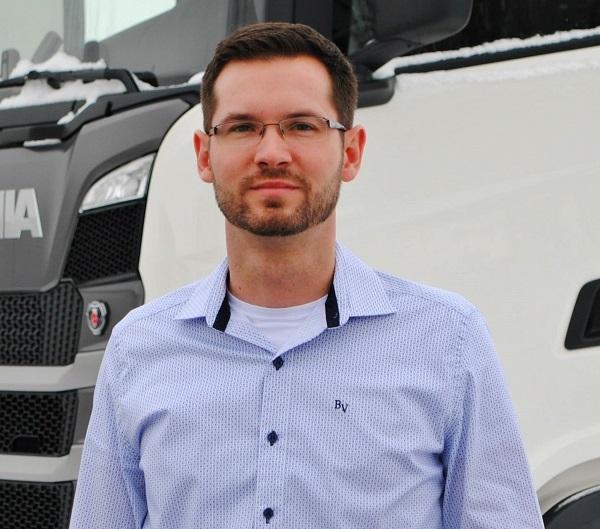 Do čela marketingu a komunikace společnosti Scania pro region střední Evropy (CER) nastoupil 1. února Ondřej Koubek.