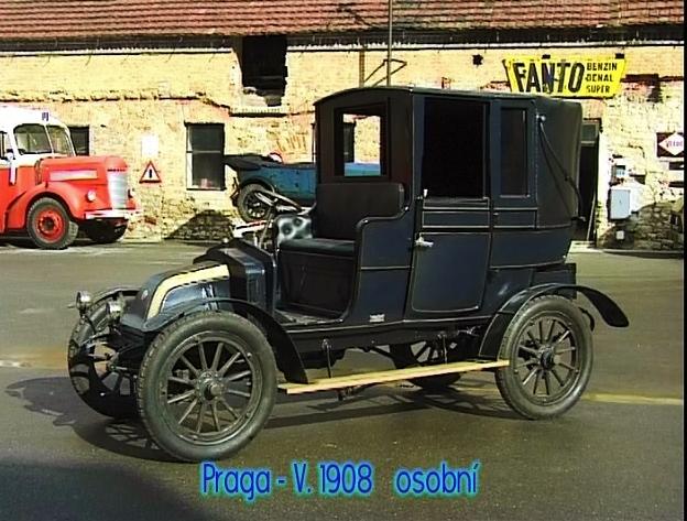 Praga - V. 1908, foto Automuzeum Praga, Emil Příhoda, foto: archiv automuzeum