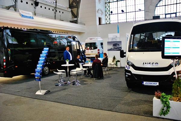Společnost Rošero - P, výrobce malých autobusů ze Slovenska na veletrhu CZECHBUS 2016 v Praze