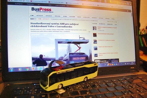 Technologie OppCharge od ABB, foto: Zdeněk Nesveda