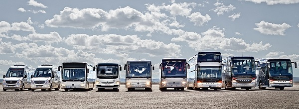 Produktová řada Daimler Buses (foto: Daimler)