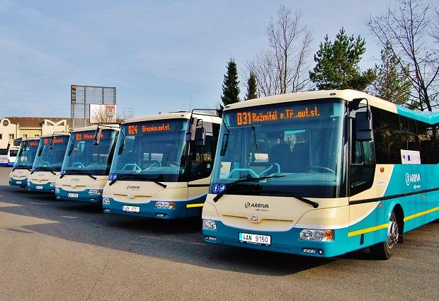 Moderní autobusová doprava Arriva Stření Čechy (foto: Zdeněk Nesveda)