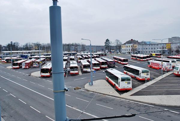 PMDP, nejmodernější evropské depo pro autobusy a trolejbusy. (foto: Zdeněk Nesveda