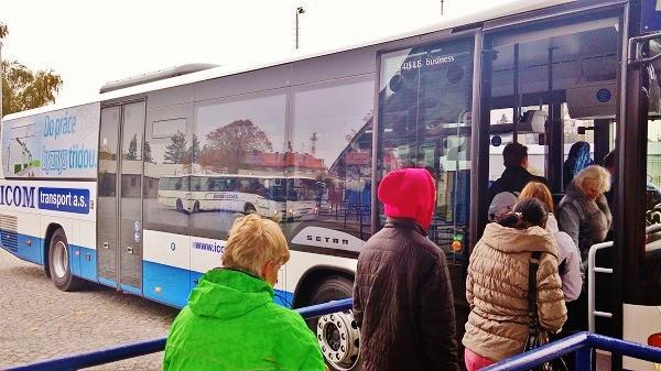 Cestující na pravidelné lince byli v ohrožení (ilustrační foto: ICOM transport)