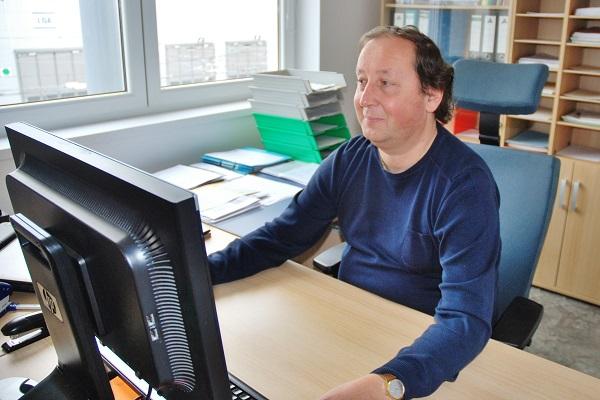 Ing. Pavel Bohánek, vedoucí autobusové a trolejbusové vozovny PMDP Karlov (foto: Zdeněk Nesveda)