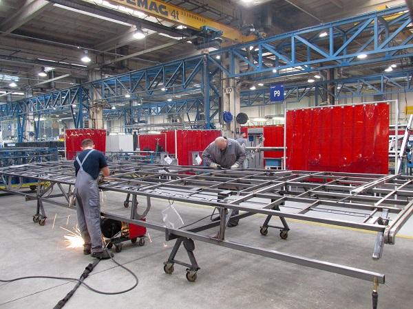 Cílem projektu bylo integrovat všechny výrobní procesy z továrny v Poznani do továrny ve Starachowicích (foto: MAN Truck & Bus)