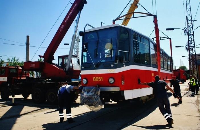 Dalších deset tramvají typu T6A5 do bulharské Sofie prodal pražský dopravní podnik, foto:DPP